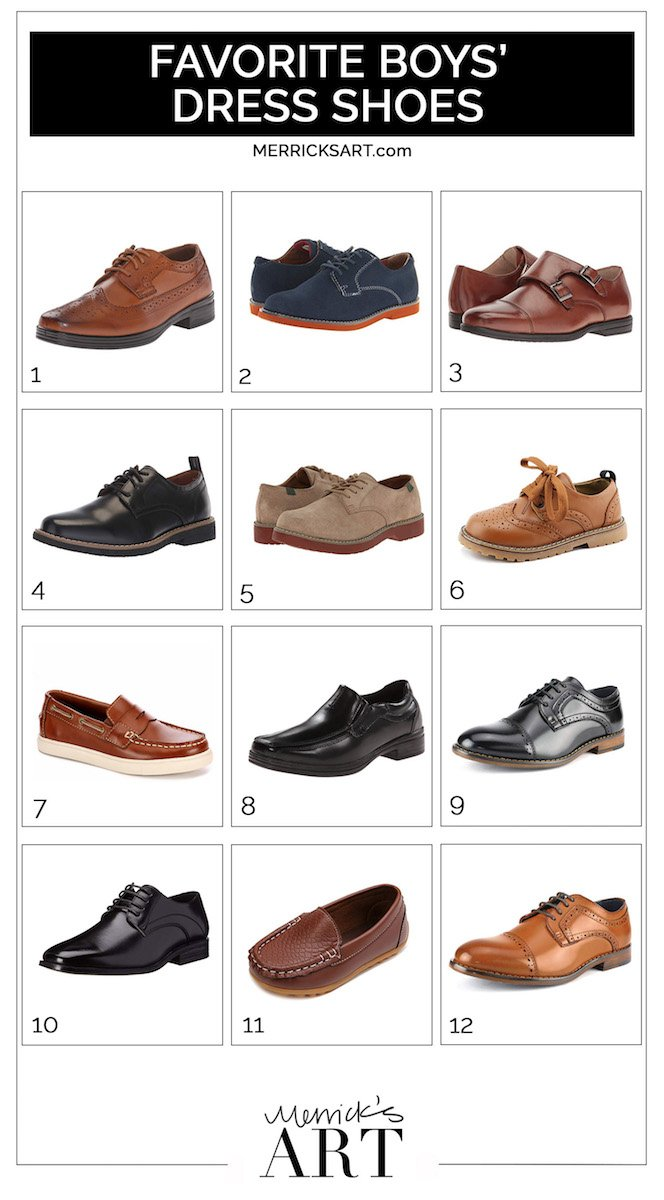 12 dress shoes for boys that are adorable!