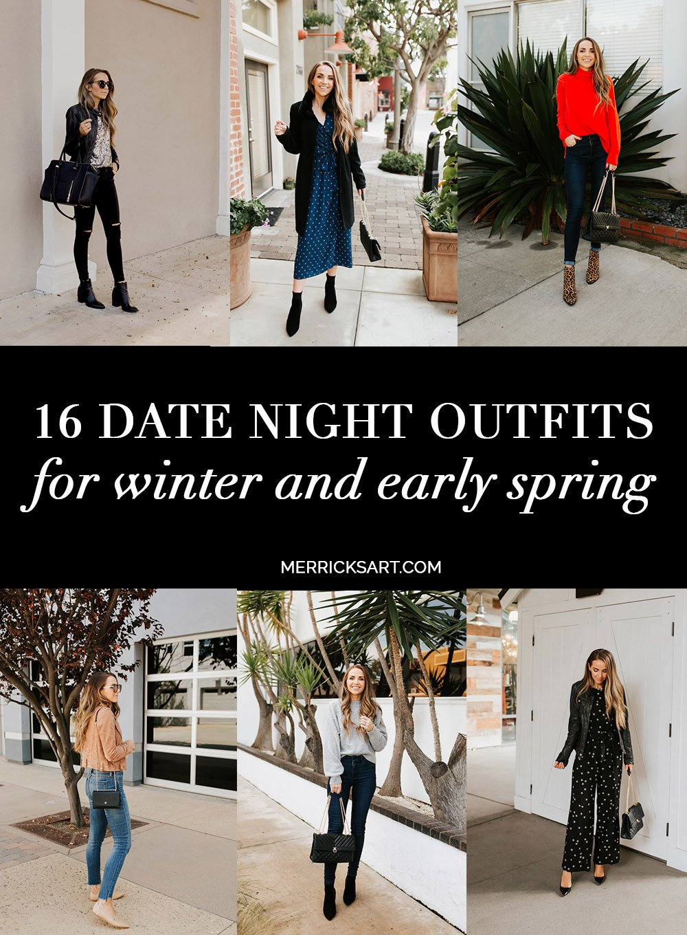 16 date night outfits for winter and early spring