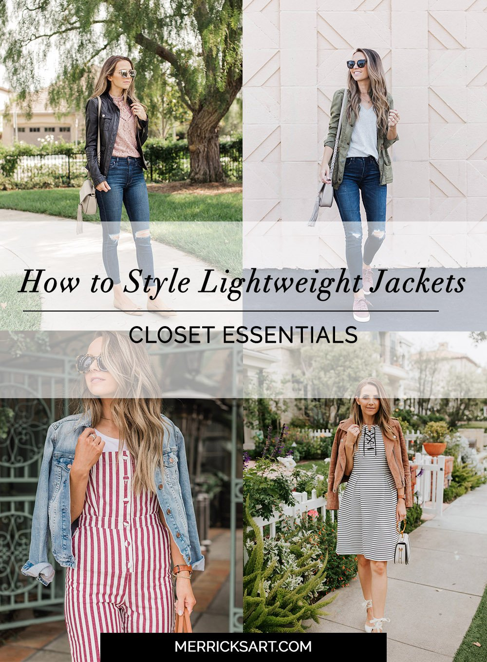 Closet Staples-lightweight jackets