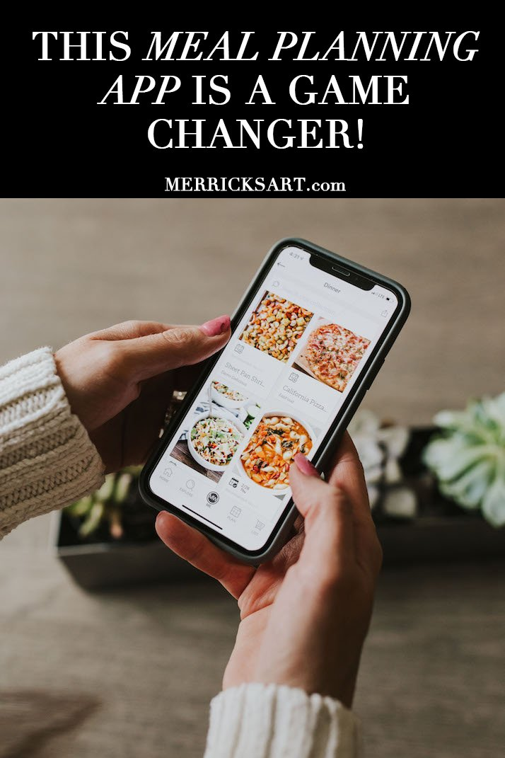 This meal planning app is a game changer!
