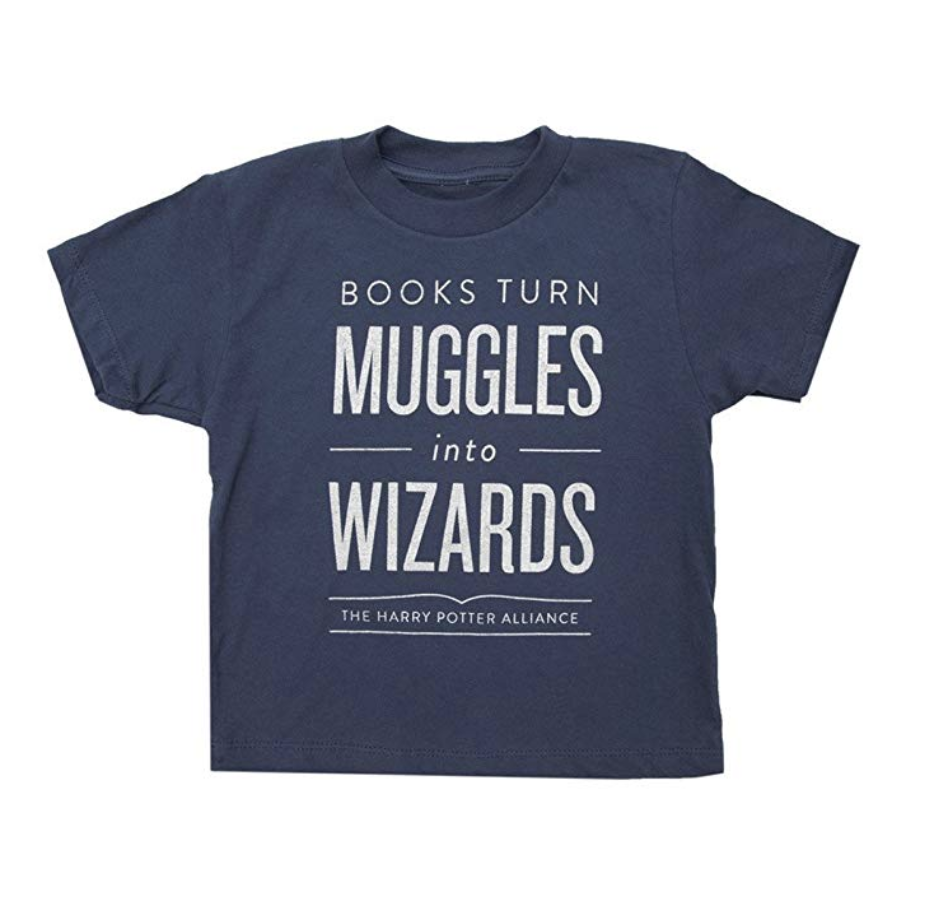 harry potter muggle and wizard shirt