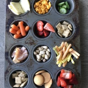 merricksart muffin tin snack tray