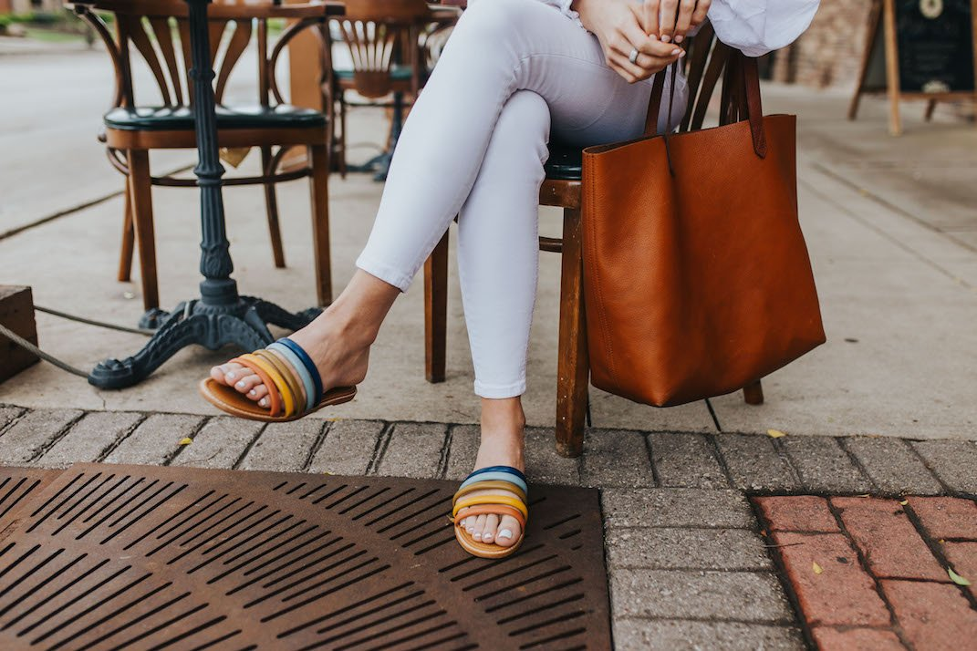 9 gorgeous flat sandals for summer