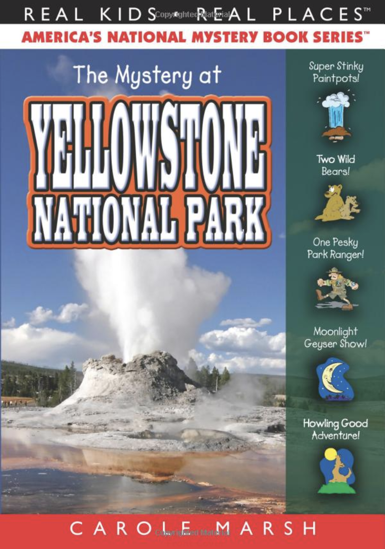 yellowstone book traveling with kids activity book merricksart