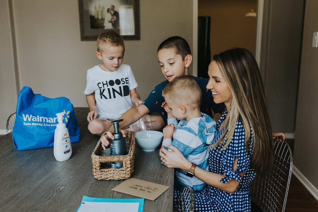 an easy father's day gift with dove