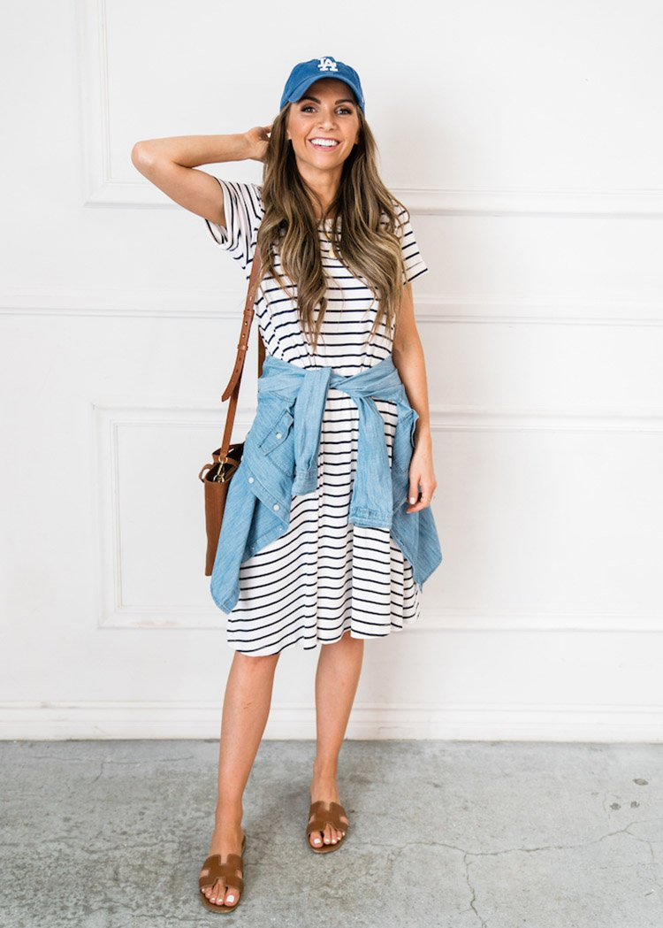 accessories to wear with a simple summer dress
