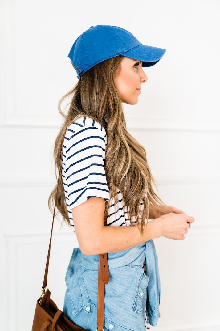 baseball hat outfit ideas