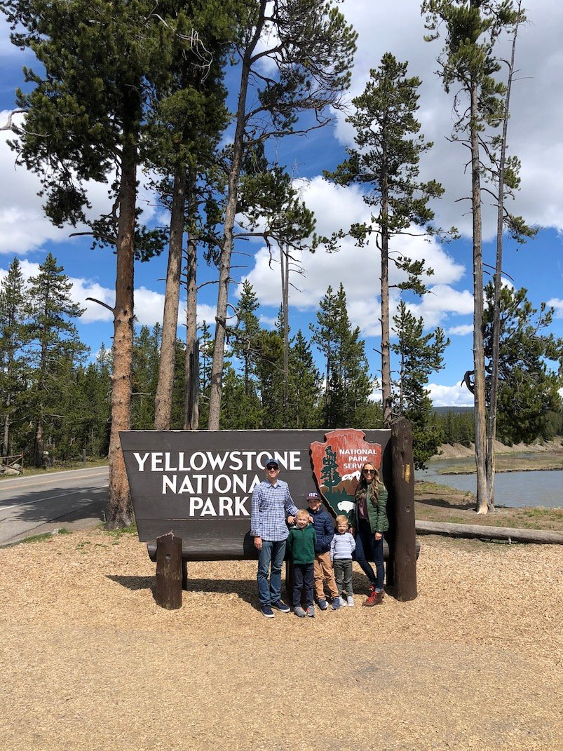 All the details from our family trip to Yellowstone National Park