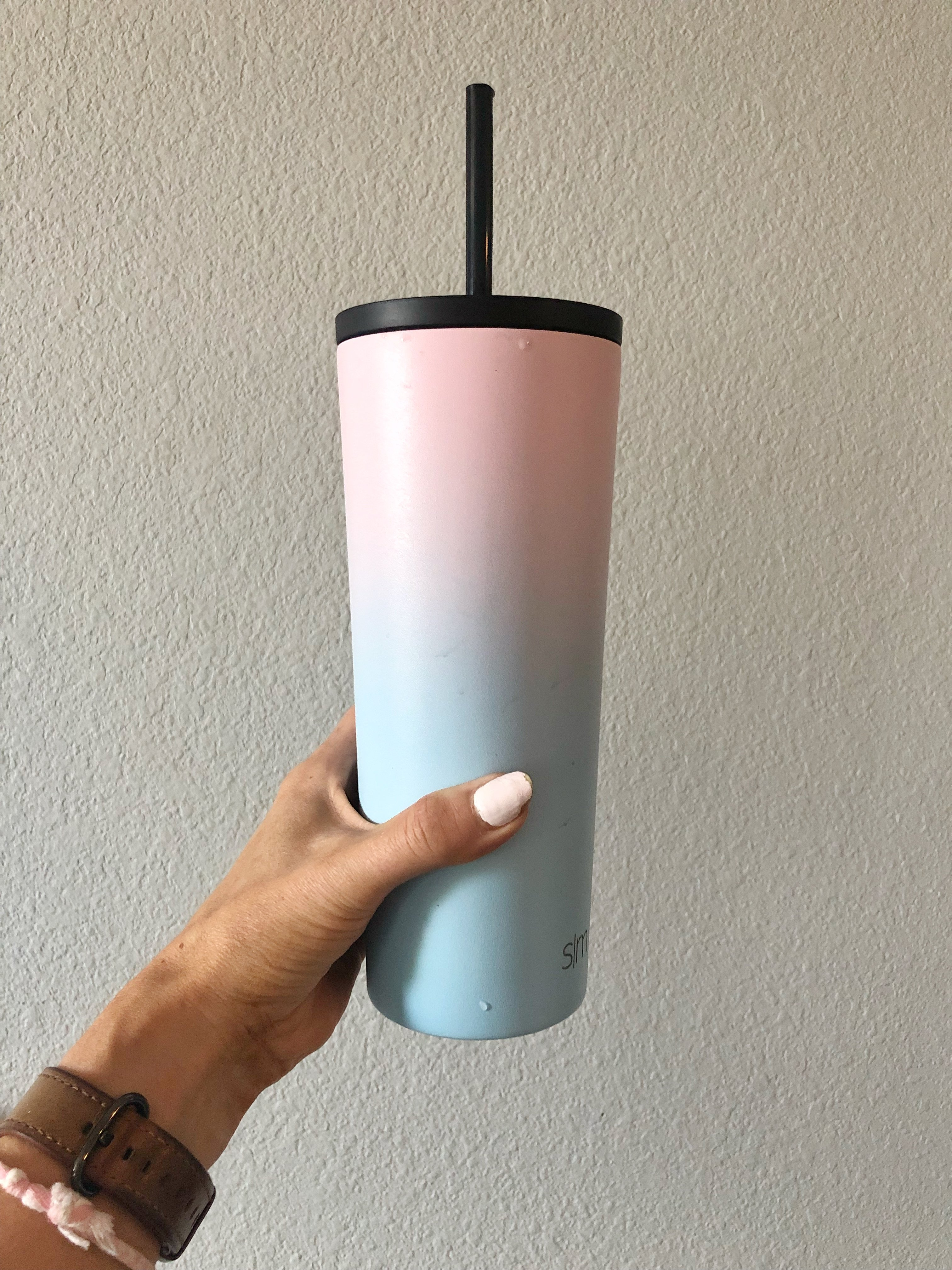 insulated cup with straw 22 oz amazon
