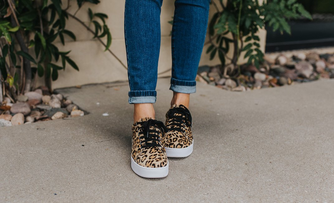 leopard sneakers from the #nsale