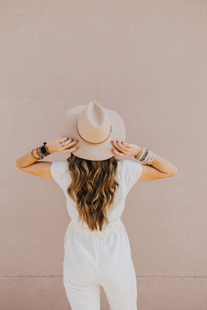 summer white jumpsuit