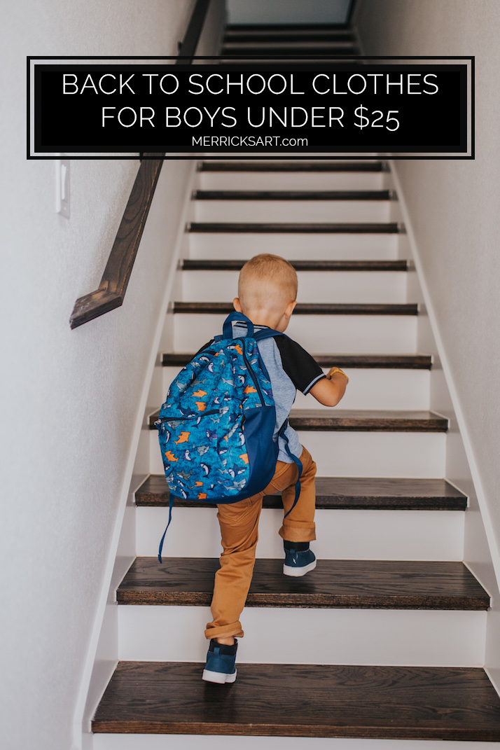 back to school clothes for boys under $25
