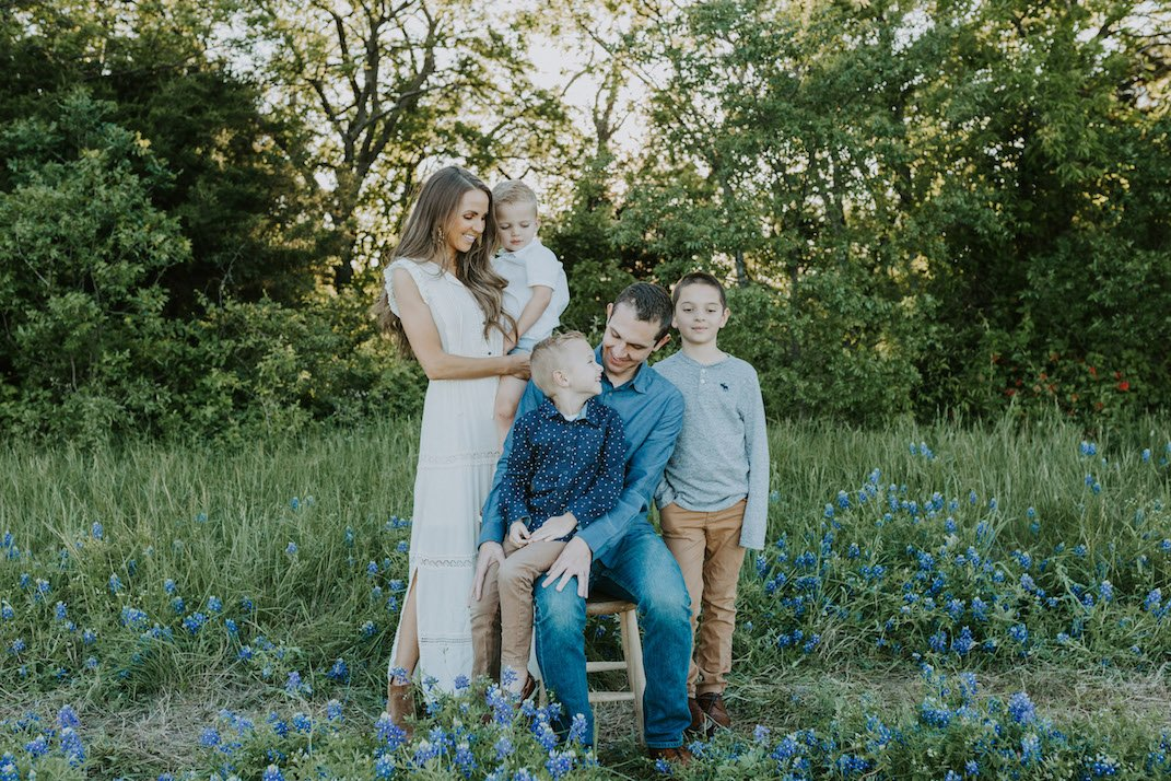 bluebonnet family pictures