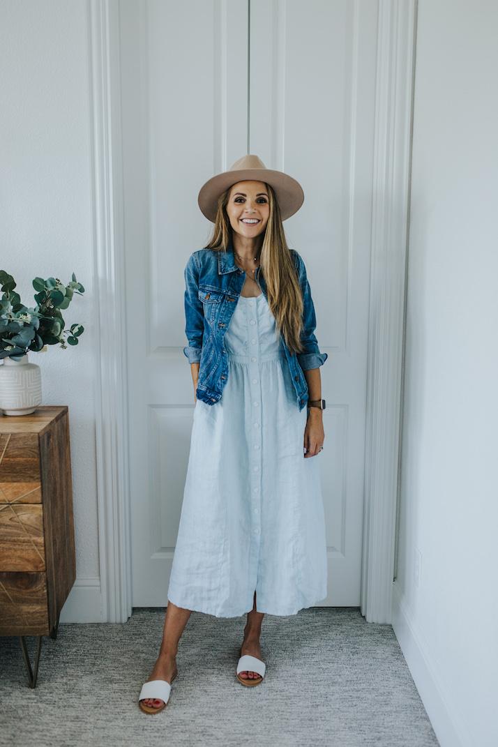 summer dress for fall