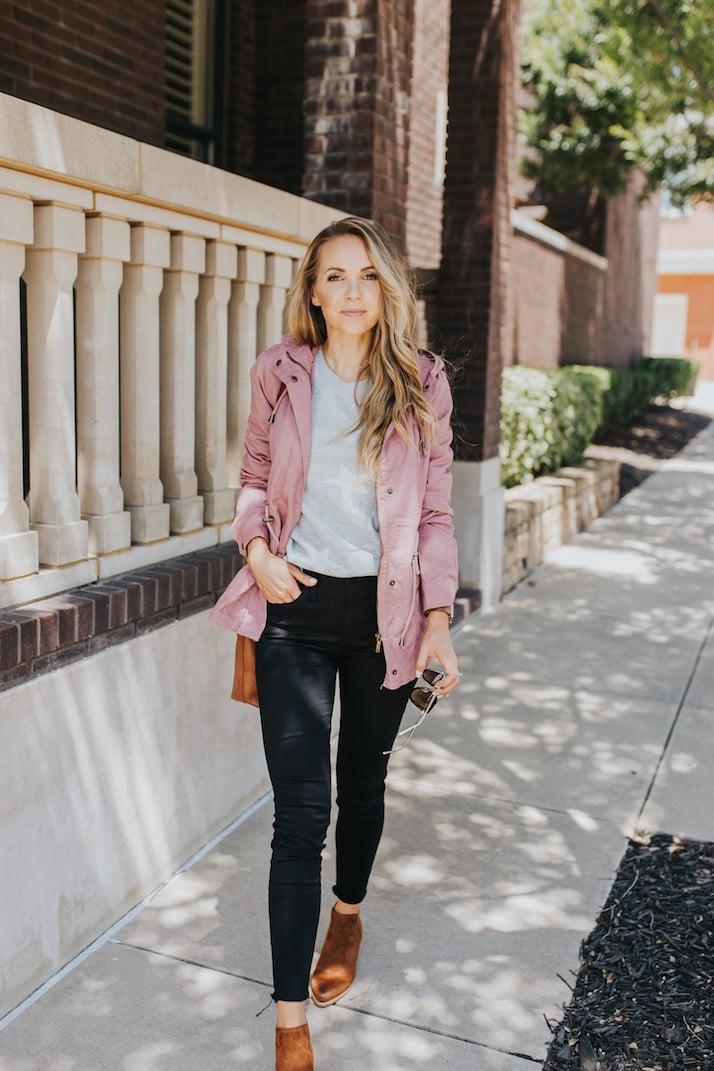 walmart pink jacket womens