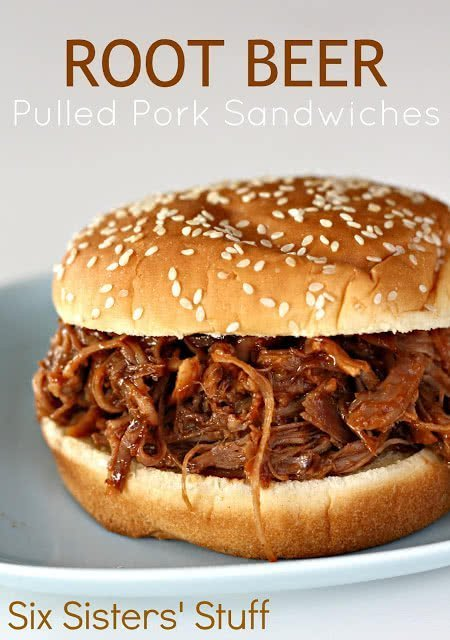 bbq pulled pork with root beer