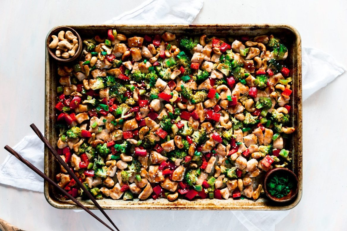 Sheet-Pan-Cashew-Chicken