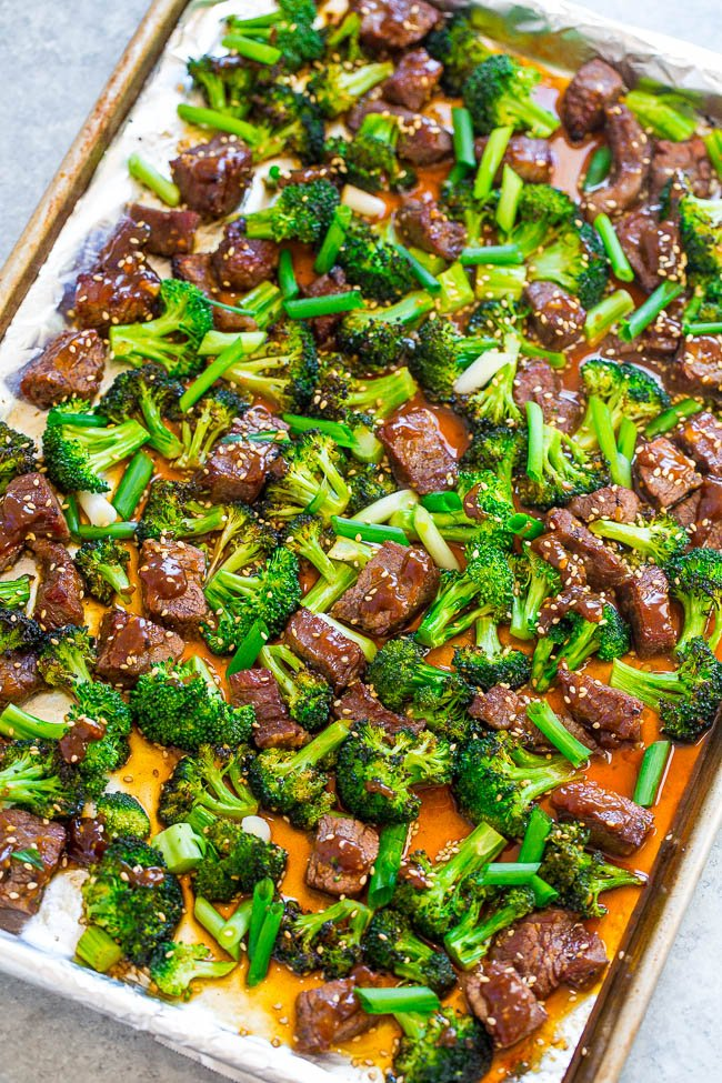 beef and broccoli weekly dinner menu