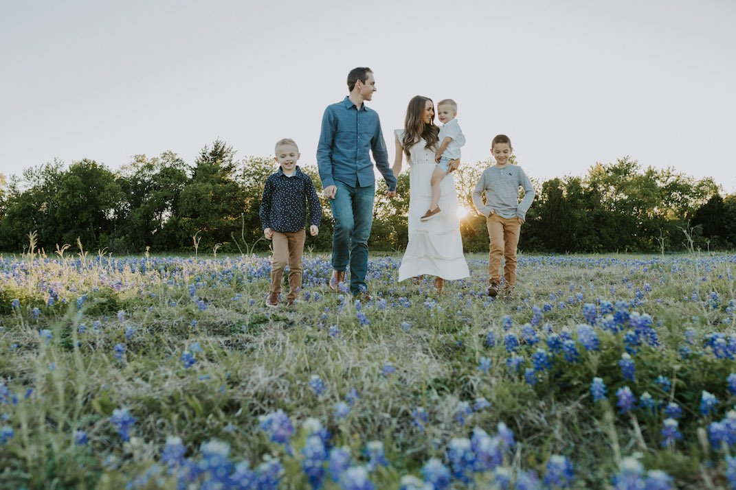 bluebonnets family photos