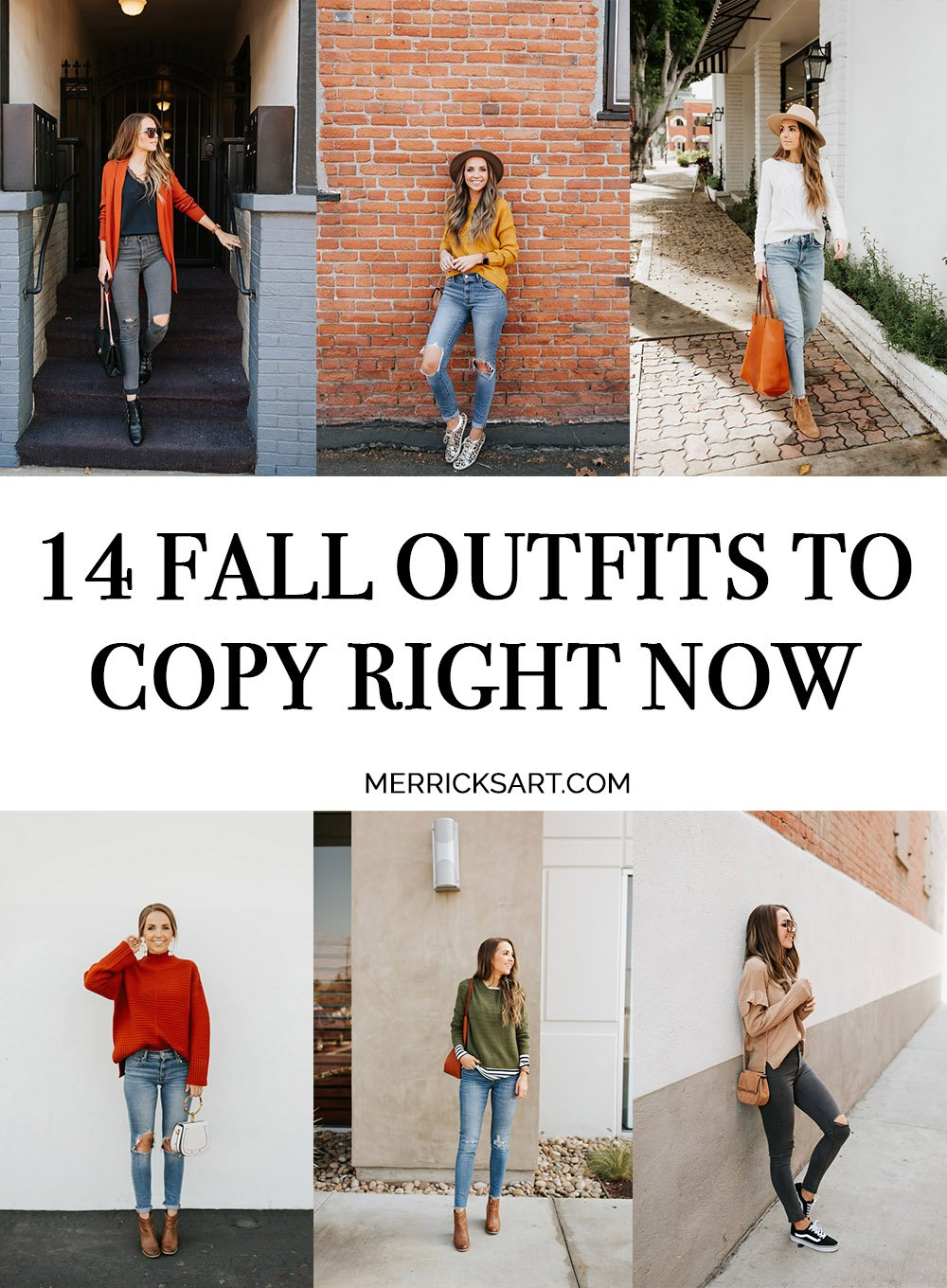 14 fall outfit ideas
