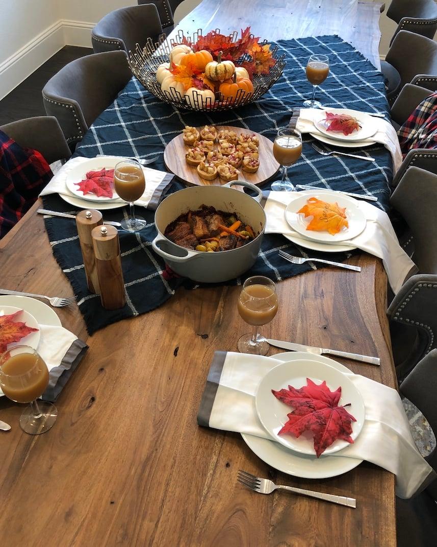 fall dinner idea