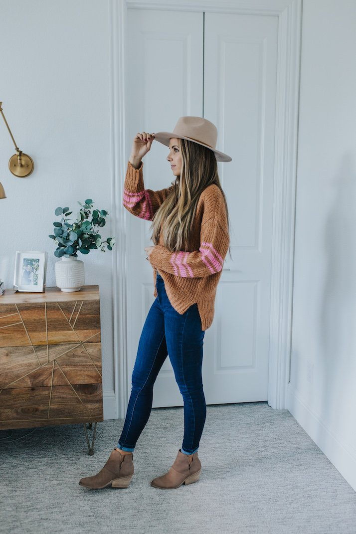 fall outfit in four easy steps
