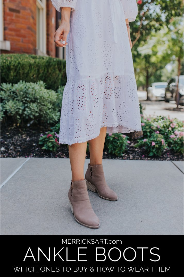 which ankle boots to buy for your body type and how to wear them