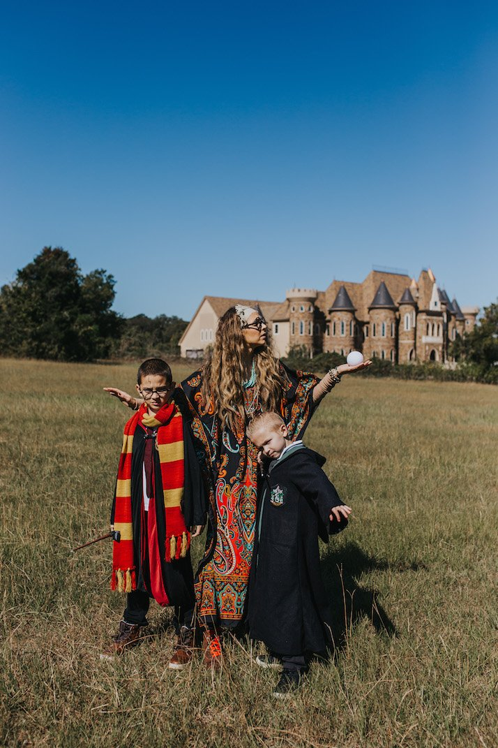 harry potter draco malfoy and professor trelawney costumes for halloween