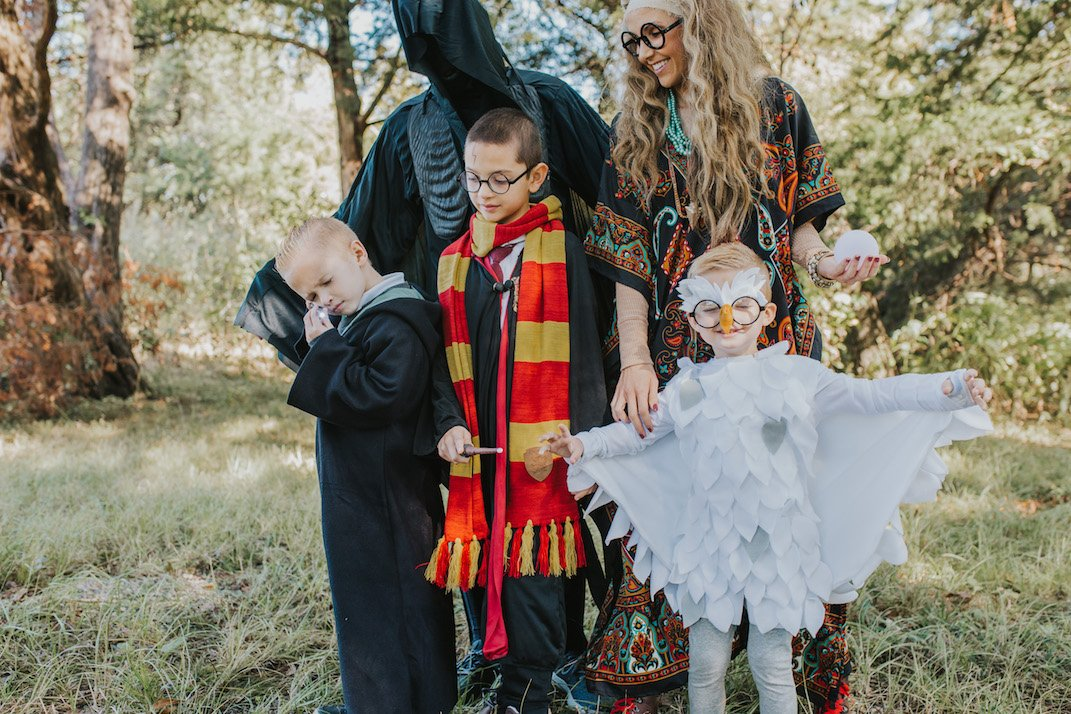 family harry potter halloween costume
