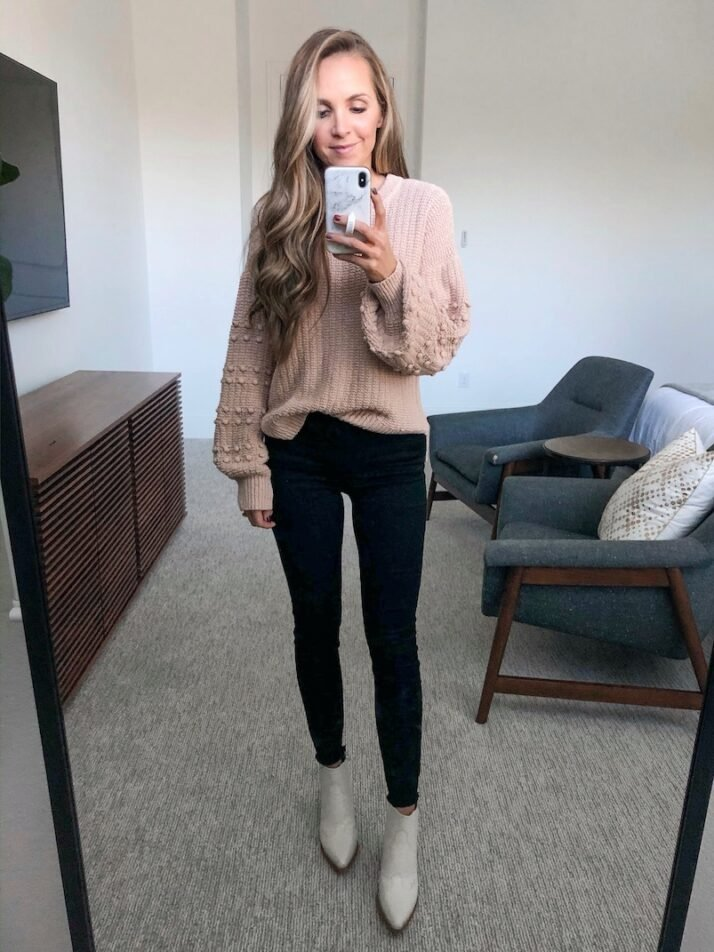 pullover sweater outfit