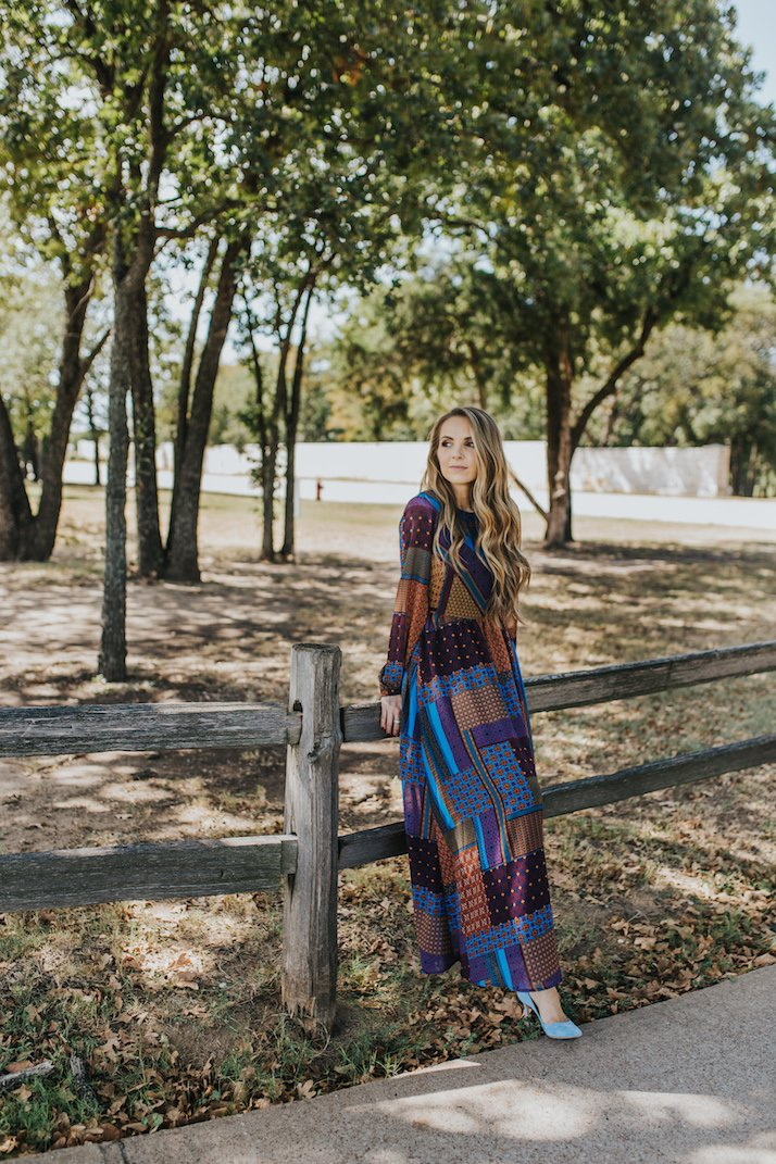 walmart maxi dress for fall