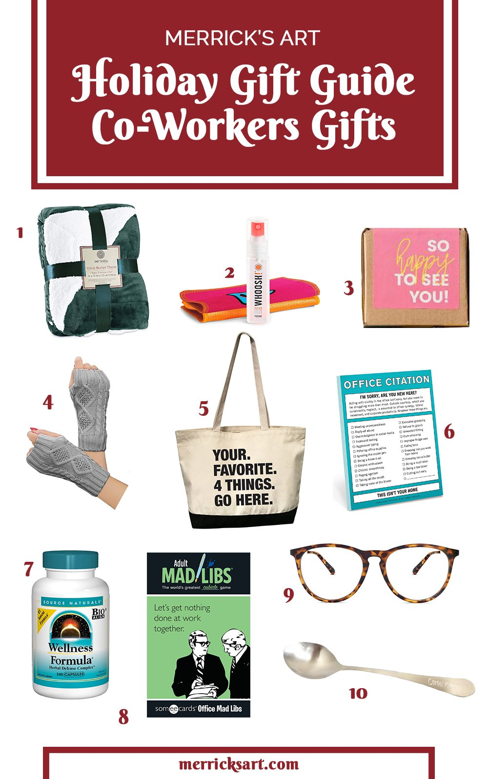 gift guide for coworkers gifts