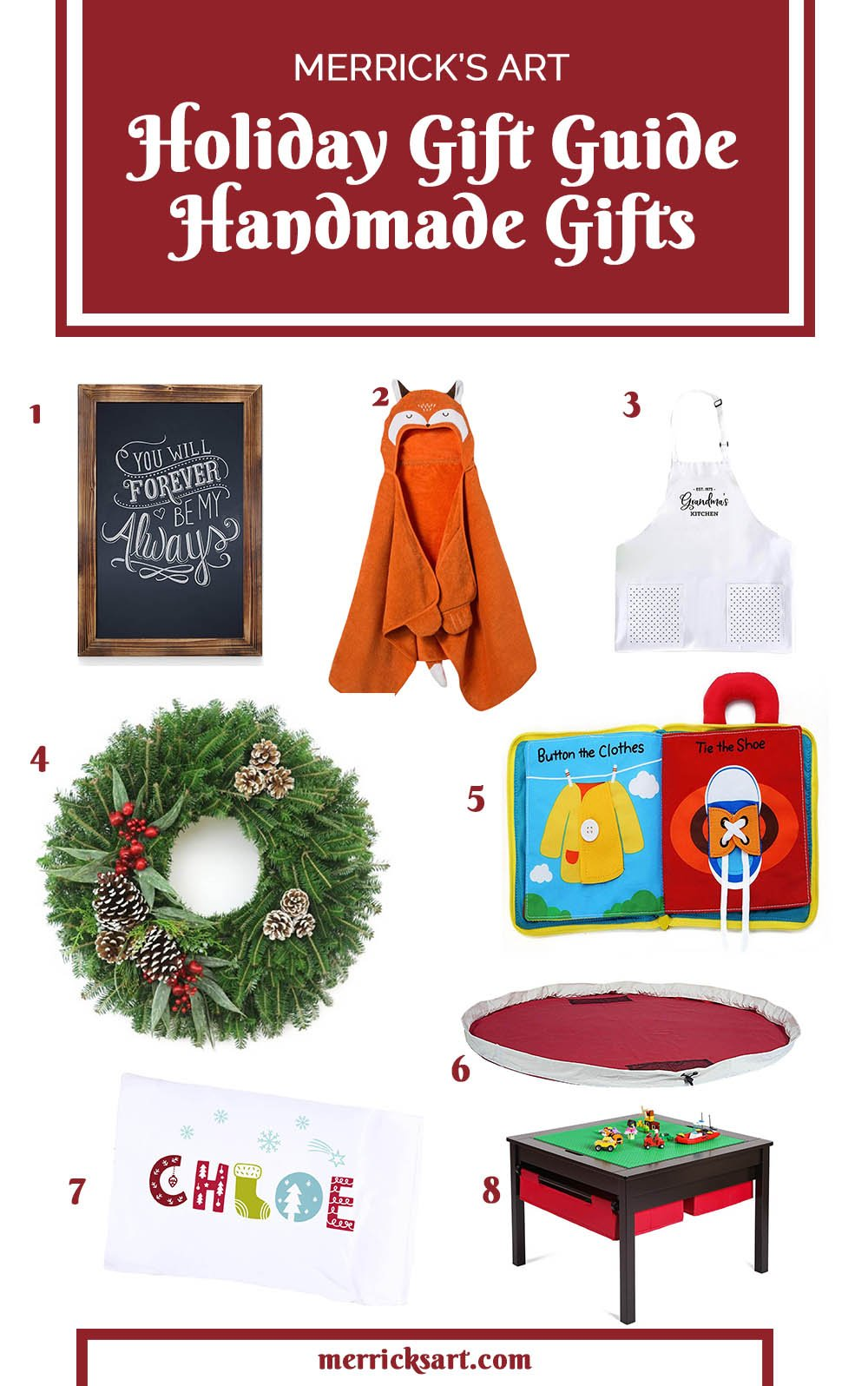 Handmade Gifts Holiday Gift Guide