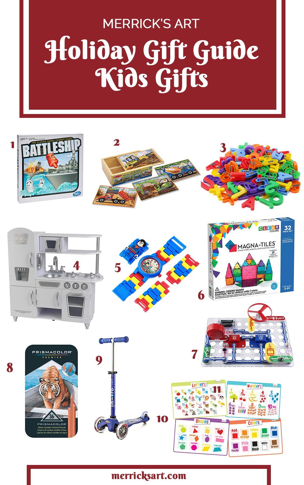 Christmas Gifts For Kids With Over 25 Non Toy Gift Ideas