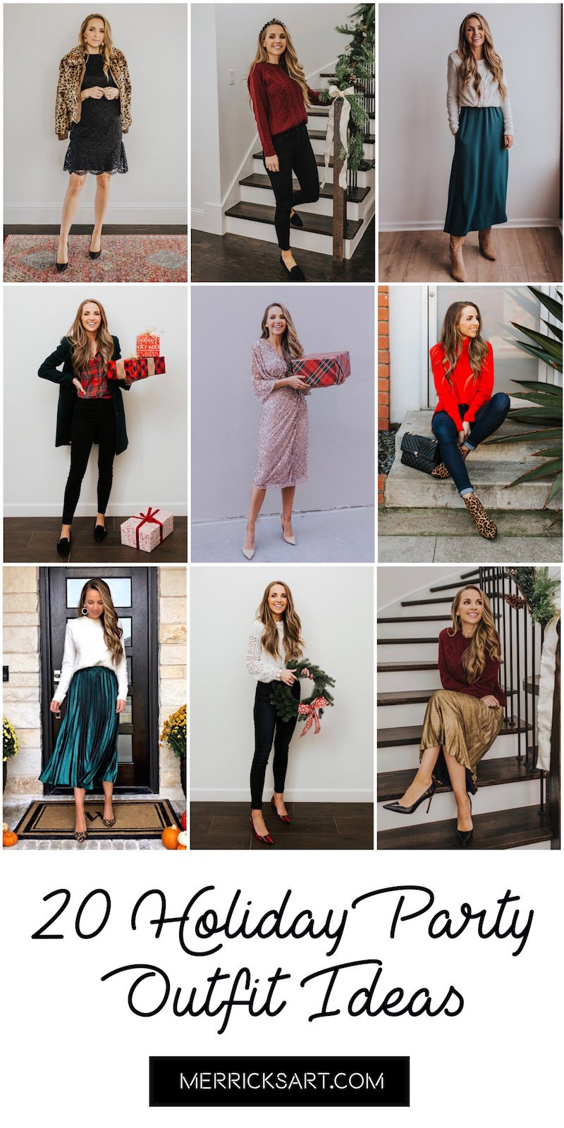 20 Christmas Party Outfits Dressy To Casual Merrick S Art