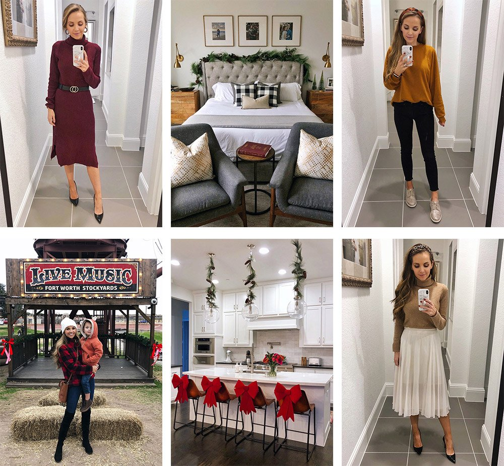 roundup of instagram daily outfits