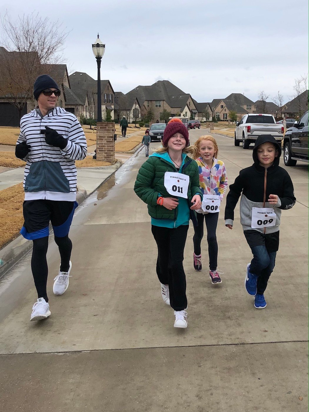 annual White Family turkey trot