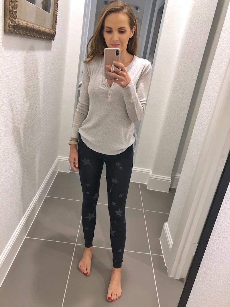 black leggings from aeo