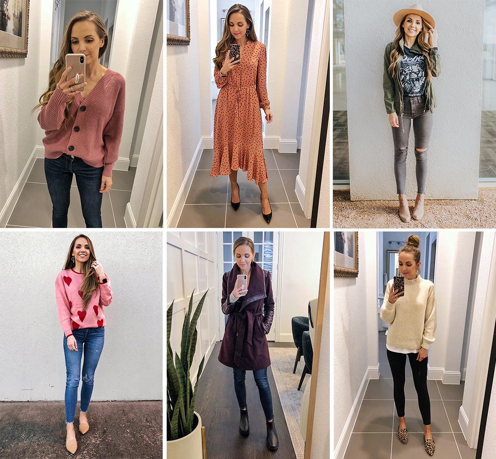 daily outfits i wore last week