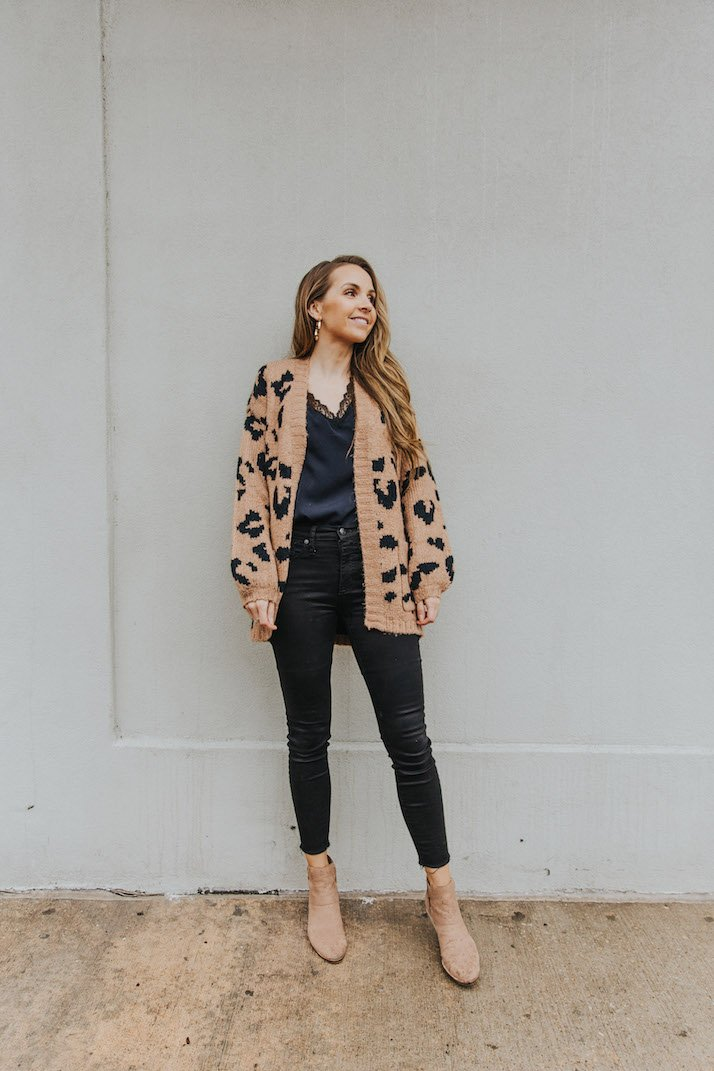 oversized cardigan outfit