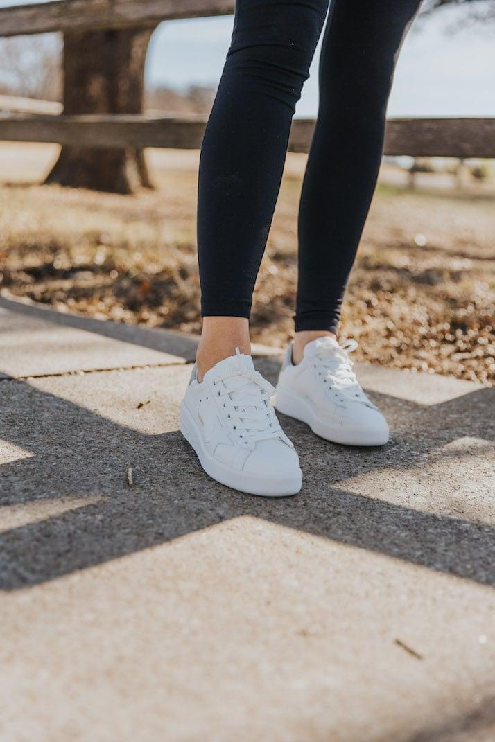white golden goose sneakers