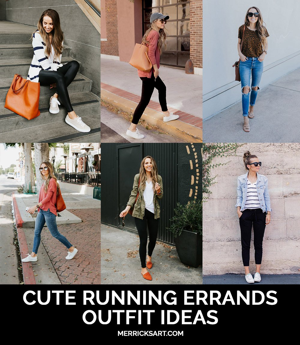 what to wear when running errands