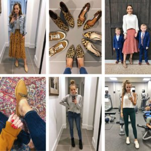 what i wore on instagram last week