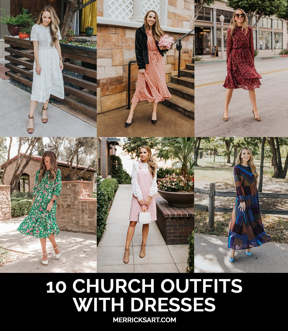 10 ways to wear dresses to church