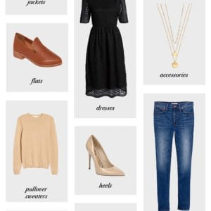 12 wardrobe essentials