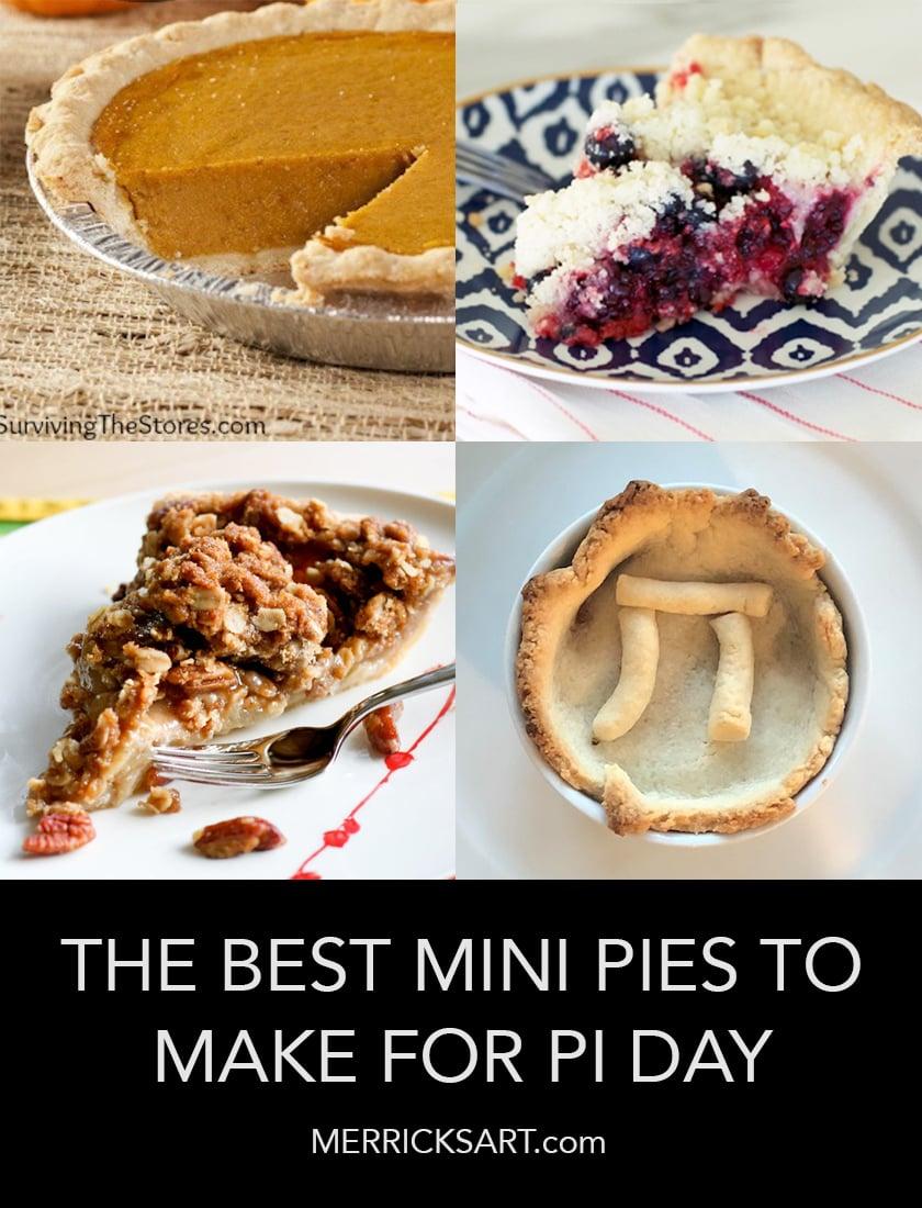 pie recipe collage