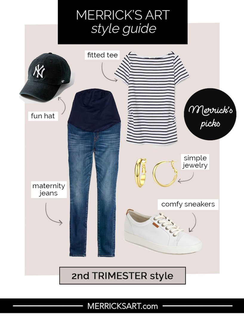 pregnancy outfits 2nd trimester