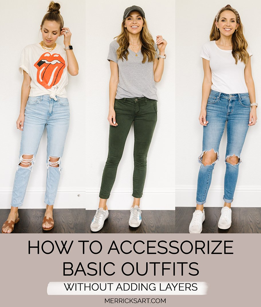 outfit ideas for your basics