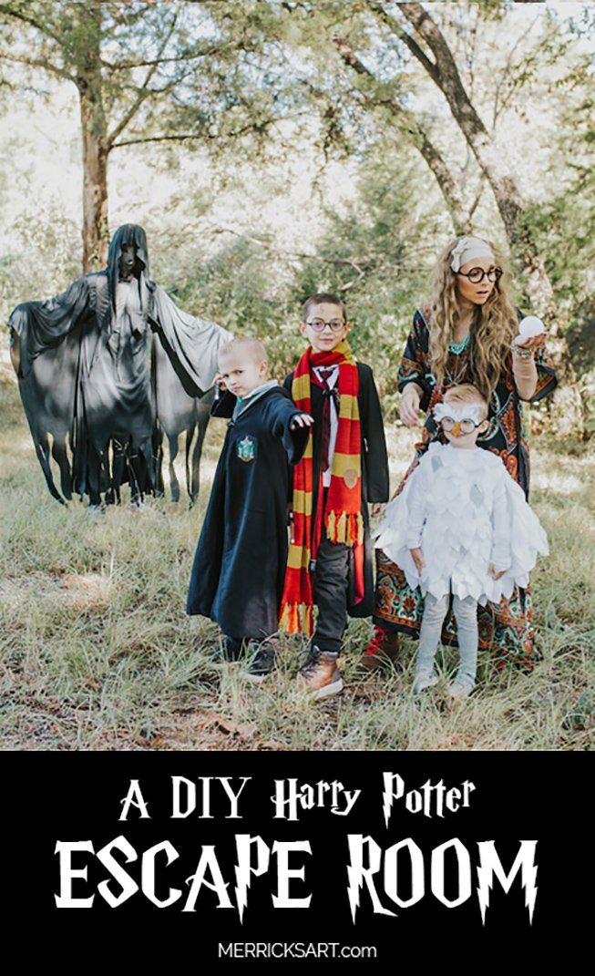 diy harry potter escape room