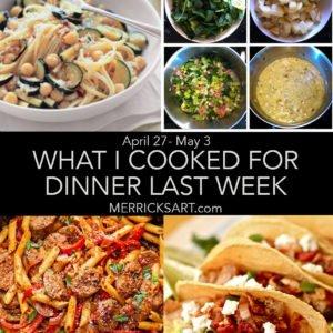 four dinner ideas
